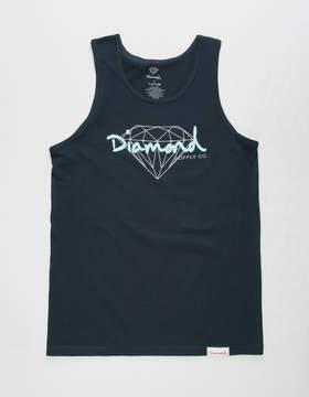 Diamond Supply Co. Brilliant Script Mens Tank Top