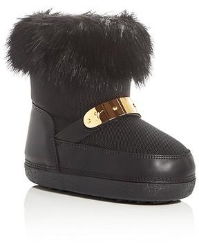 Giuseppe Zanotti Girls' Faux Fur Moon Boots - Toddler, Little Kid