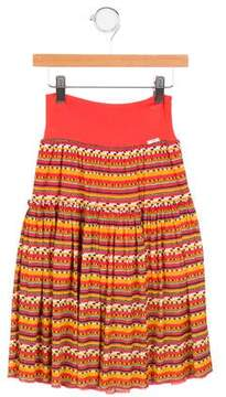 Junior Gaultier Girls' Solene Printed Skirt w/ Tags