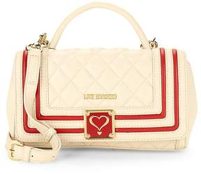 Love Moschino Women's Quilted Faux Leather Mini Bag