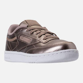 Reebok Girls' Grade School Club C Gigi Casual Shoes