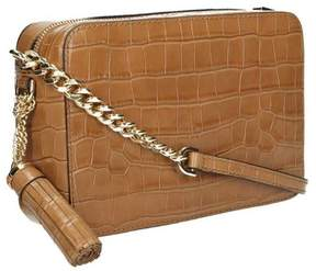 Michael Kors Ginny Embossed-Leather - Crossbody - Acorn - 32F7GGNM2E-532 - ONE COLOR - STYLE