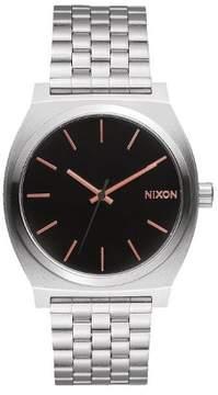 Nixon Time Teller Japanese Quartz Black Dial Men's Analog Watch A045-2064
