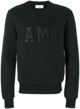 Ami Alexandre Mattiussi Sweatshirt Patched Ami Letters
