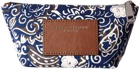 Marc Jacobs Paisley Cosmetics Small Trapezoid Cosmetic Case
