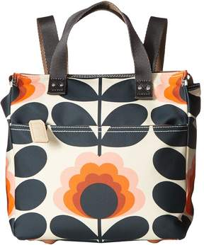 Orla Kiely Summer Flower Stem Small Backpack Backpack Bags