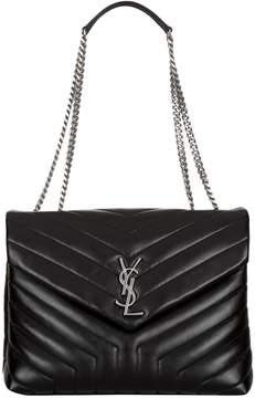 Saint Laurent Small Matelasse Loulou Shoulder Bag