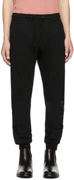Diesel Black P-Scram Lounge Pants