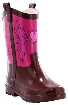 Western Chief Toddler Girl Western Cowgirl Rain Boot Pink