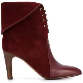Chloé 'Kole' Lace-Up Leather boots