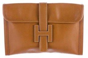 Hermes Veau Graine Lisse Jige 29 - BROWN - STYLE