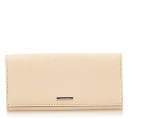 Burberry Pre-owned: Leather Long Wallet. - BROWN X BEIGE - STYLE