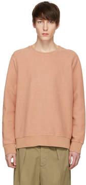 Cmmn Swdn Pink Coen Reversed Sweatshirt