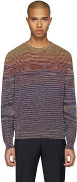 Missoni Purple Knit Pullover