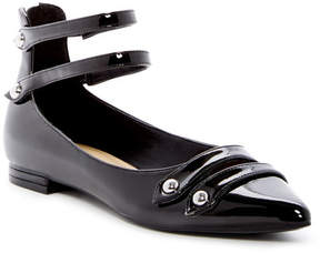 Marc Fisher Falie Ankle Strap Flat