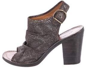Fiorentini+Baker Metallic Suede Sandals