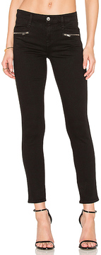 7 For All Mankind The Zip Front Ankle Skinny.