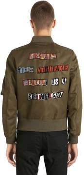 Jamie Reid Embellished Satin Jacket