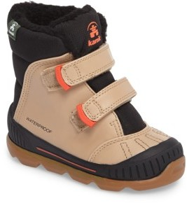 Kamik Toddler Boy's Parker Insulated Waterproof Snow Boot