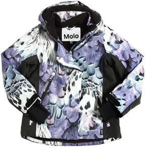 Molo Waterproof Printed Nylon Ski Jacket