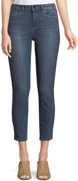 T Tahari Babs Skinny Cropped Jeans