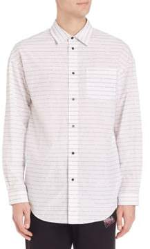 Alexander Wang Long Sleeve Cotton Shirt