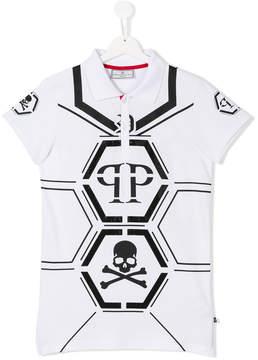 Philipp Plein Junior TEEN All The Lovers polo shirt