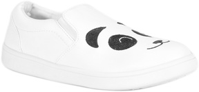 Bamboo Black & White Panda Slip-On Sneaker