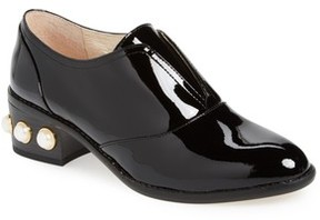 Louise et Cie Women's Franley Embellished Heel Oxford