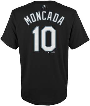 Majestic Boys 4-18 Chicago White Sox Yoan Moncada Player Name and Number Tee