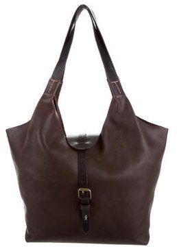 Henry Beguelin Leather Tote Bag