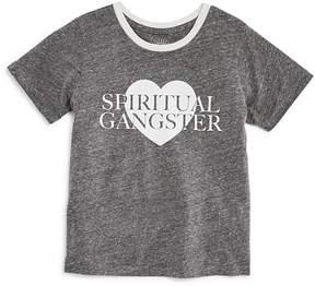 Spiritual Gangster Girls' Heart Tee - Little Kid