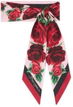 dolce gabbana scarf