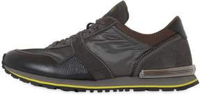 Tod's Spoiler Nylon & Leather Running Sneakers