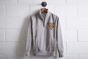 Tailgate Men's WVU Half-Zip Fleece Popover