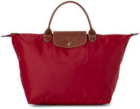 Longchamp Cherry Le Pliage Medium Satchel - CHERRY RED - STYLE