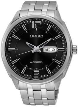 Seiko Men's Stainless Steel Mechanical Watch, 45mm