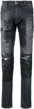Philipp Plein Gothic Plein Super Straight Cut jeans