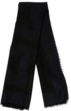 Chanel Wool & Silk-Blend CC Scarf