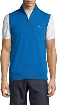 J. Lindeberg Golf Men's Edi Tour Merino Wool Vest
