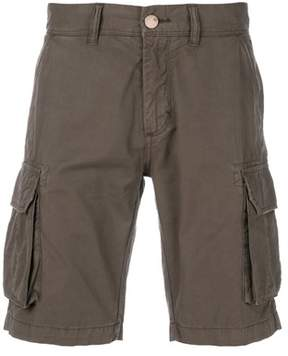 Sun 68 Men's B1810652 Brown Cotton Shorts.