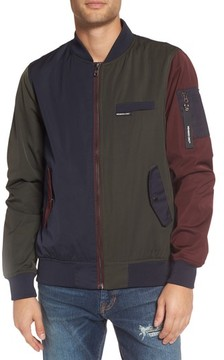 Members Only Men's Colorblock Bomber Jacket