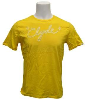 Puma Men's Edition Graphic Tee Yellow M