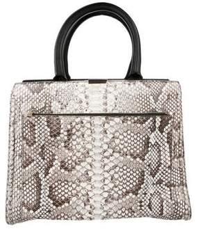 Victoria Beckham Python City Victoria Bag