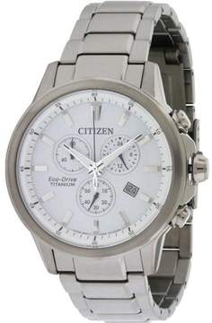 Citizen Eco-Drive AT2340-56A White Dial Watch