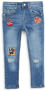 Butter Shoes Little Girl's Super Skinny Jeans