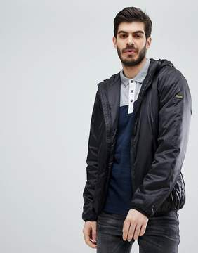 Barbour International Draft Quilted Jacket in Black