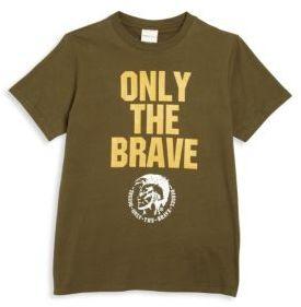 Diesel Little Boy's & Boy's Graphic T-Shirt