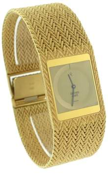 Concord 50.77.615 18K Yellow Gold Woven Quartz 25mm Unisex Watch