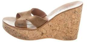 K Jacques St Tropez Kobe Slide Wedges